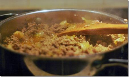 chili add meat