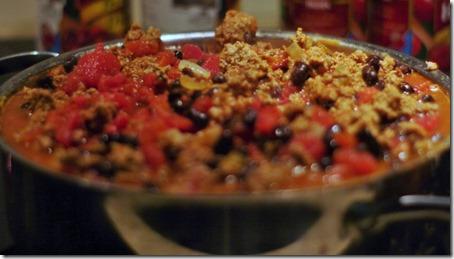 chili add tomatoes
